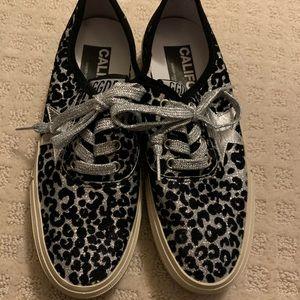Golden Goose leopard sneakers